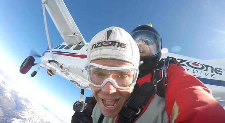 Tandem Skydive Over Queenstown - 12,000ft