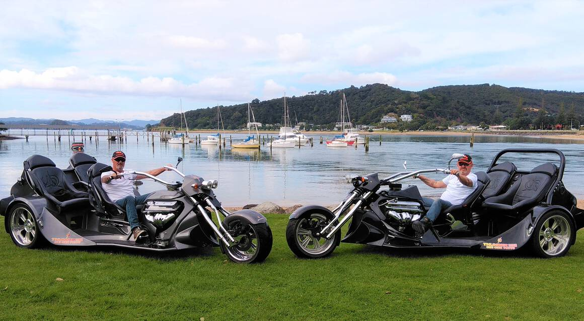 Bay of Islands Scenic V8 Trike Tour - For 2