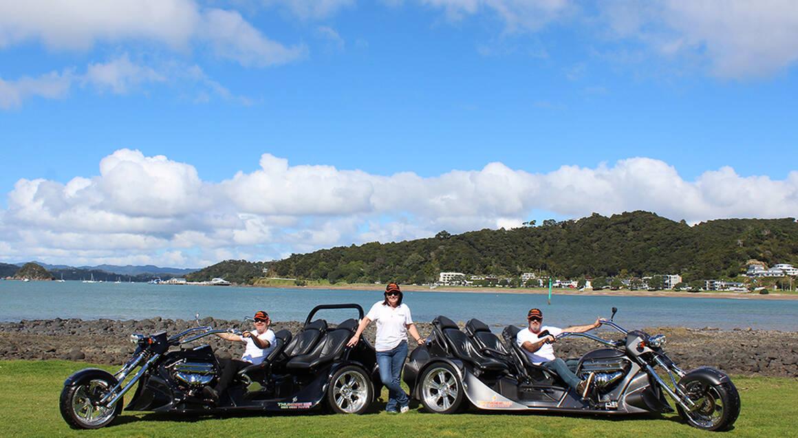 Bay of Islands Thrilling V8 Trike Tour - For 2