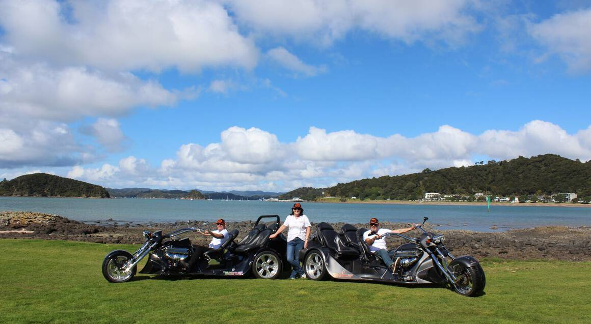 Bay of Islands Scenic and Thrill V8 Trike Tour - For 2