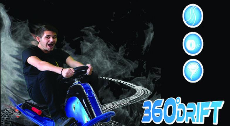 360 Degree Drift Karting