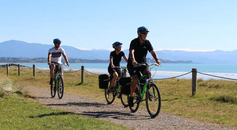 Self Guided Mapua and Rabbit Island Bicycle Tour - For 2
