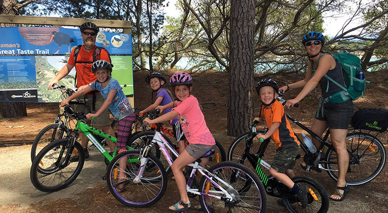 Nelson to Mapua Guided Cycle Tour - For 2