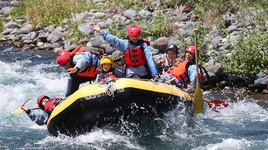 Family Rafting Adventure on the Tongariro River