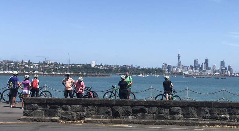 Auckland City of Sails Self Guided Bike Tour  4 Hours