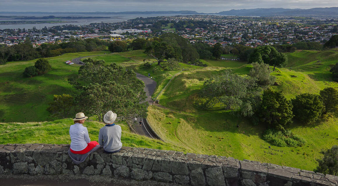 Auckland Volcanoes Half Day Tour
