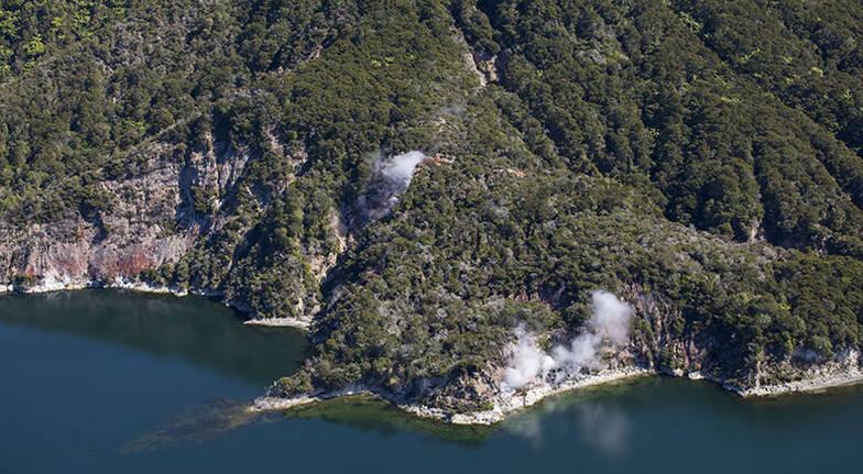 Floatplane Tour over Mt Tarawera and Waimangu Thermal Valley