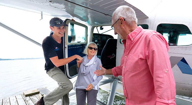 Floatplane Tour over Mt Tarawera with Visit to Orakei Korako