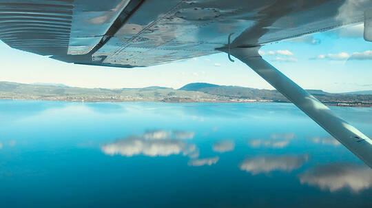 Floatplane Flight over Rotorua Lakes - 15 Minutes
