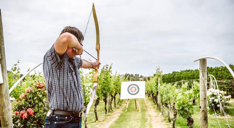 Laser Claybird Shooting and Archery Combo on Waiheke Island