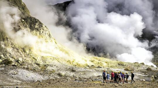 Live Volcano Tour of White Island from Tauranga