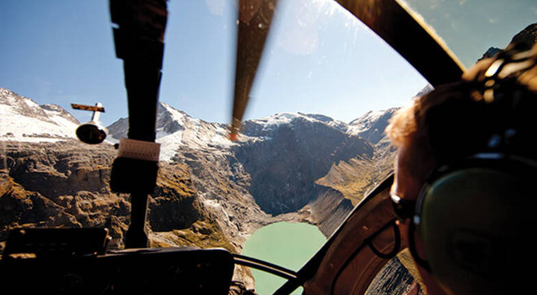 Helicopter and Jet Boat Combo in Mt Aspiring National Park
