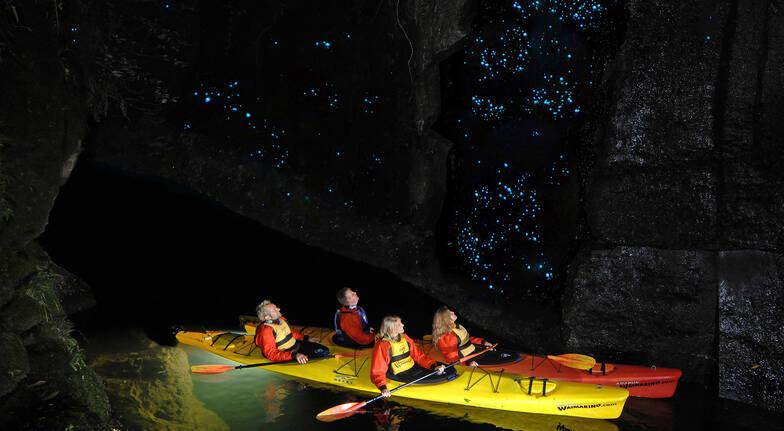 Evening Glow Worm Kayak Tour  3 Hours