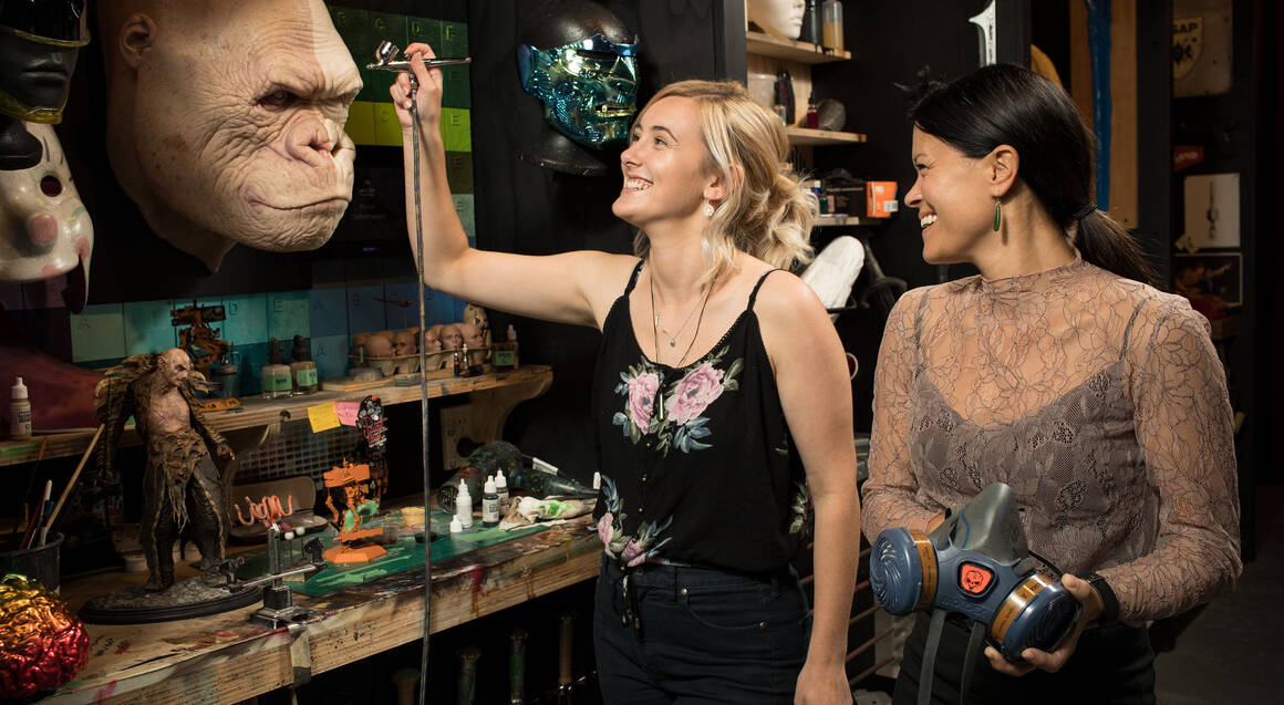 An Evening at Weta Workshop with Three Course Dinner At CoCo