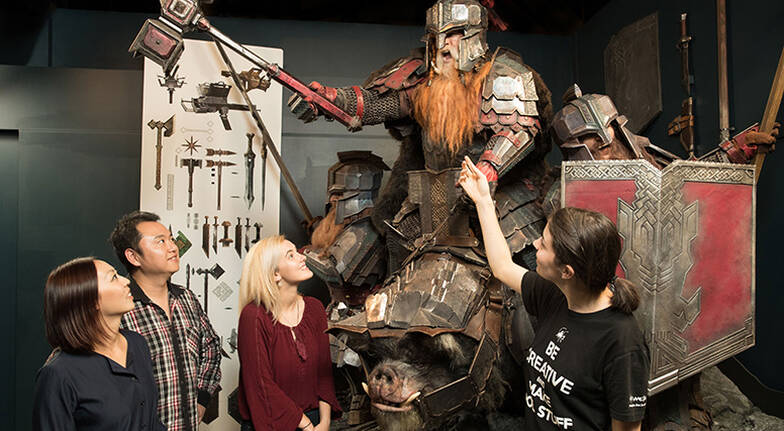 Weta Workshops Full Experience with Lunch and Souvenir