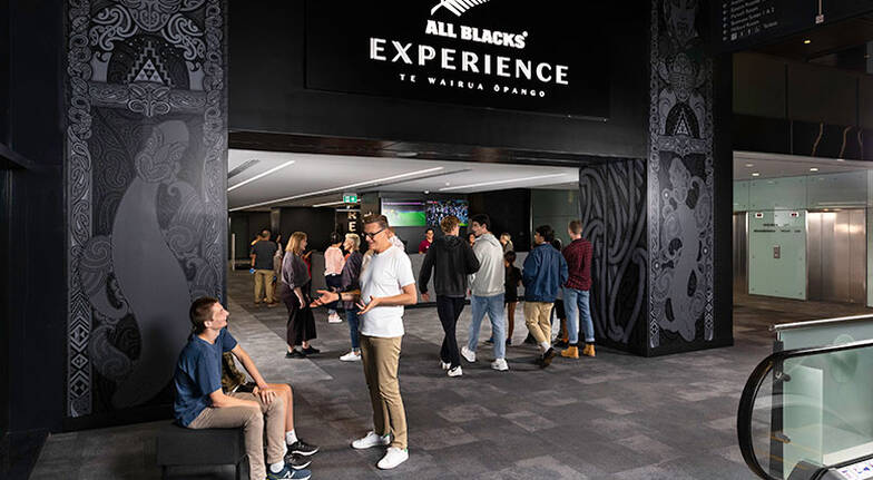All Blacks Interactive Experience - 60 Minutes