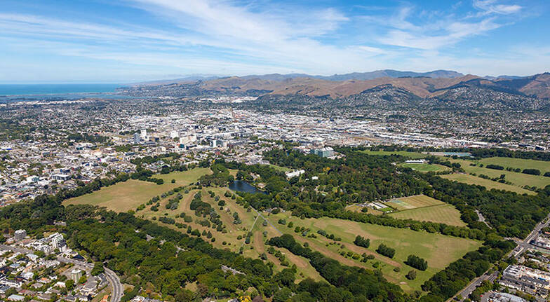 Christchurch City Scenic Helicopter Flight  20 Minutes
