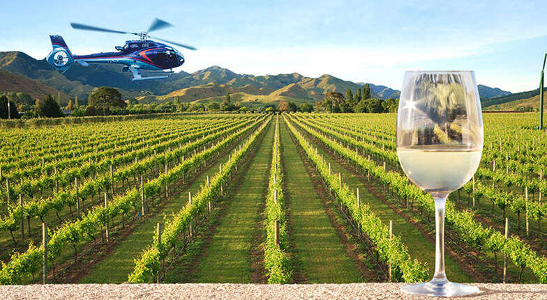 Scenic Flight and North Canterbury Winery Lunch - 3 Hours