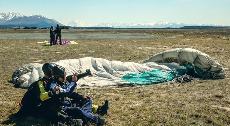 Tandem Skydive over Mt Cook - 9,000ft