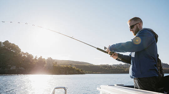 3 Hour Fishing Charter on Lake Taupo - For up to 10