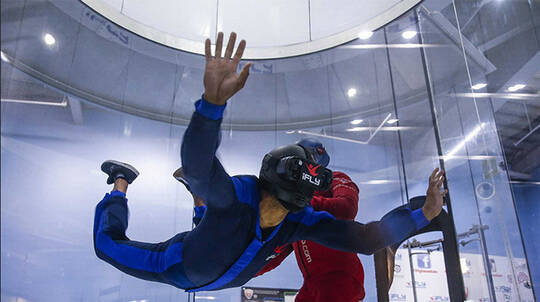iFLY Indoor Skydiving - 2 Flights + 1 Virtual Reality Flight