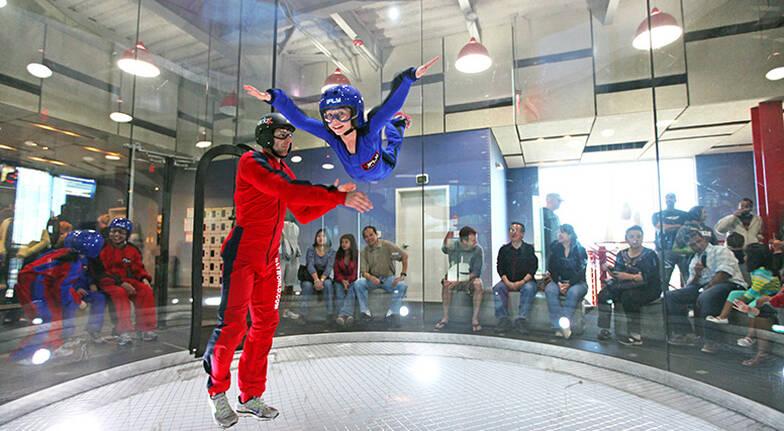 iFLY Indoor Skydiving - 4 Flights + 1 Virtual Reality Flight
